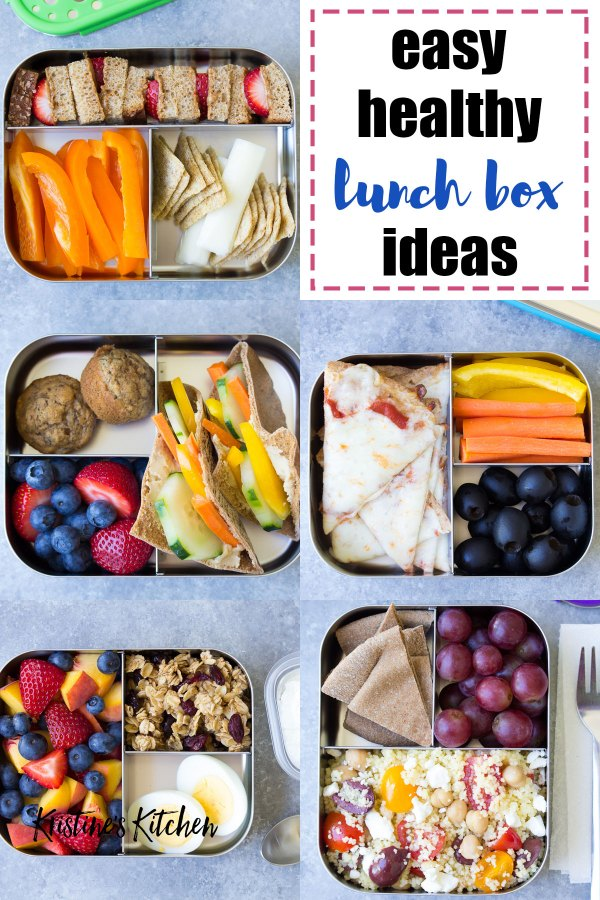 10 More Healthy Lunch Ideas for Kids (for the School Lunch ... Organized Refrigerator Healthy