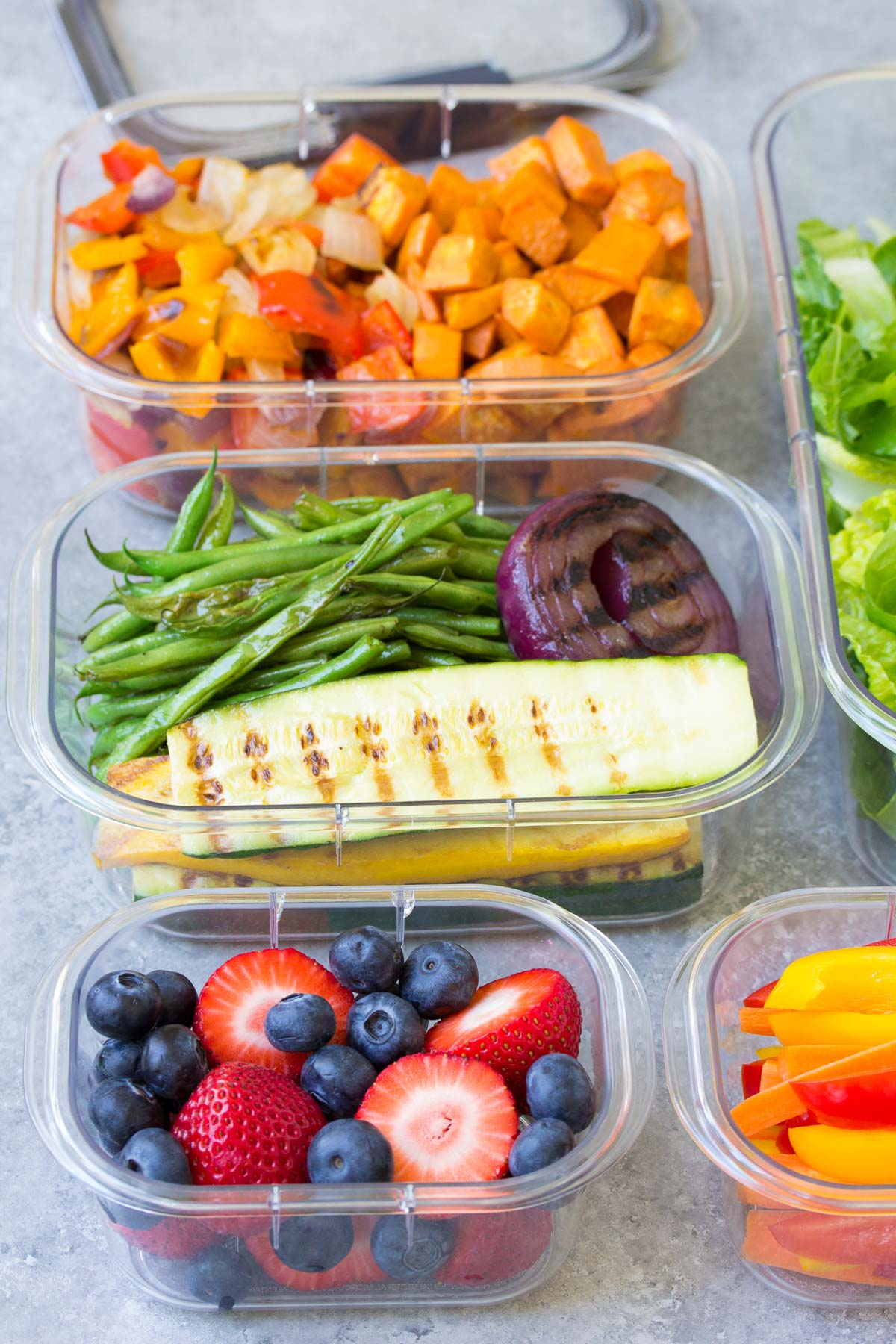 How To Eat More Vegetables And Fruits With Meal Prep