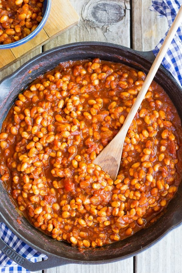 Stove Top BBQ Baked Beans