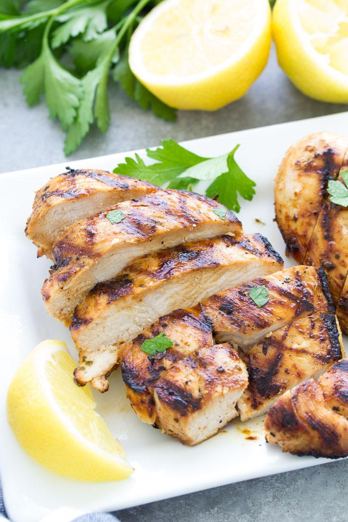Easy Grilled Chicken Recipe - Kristine's Kitchen