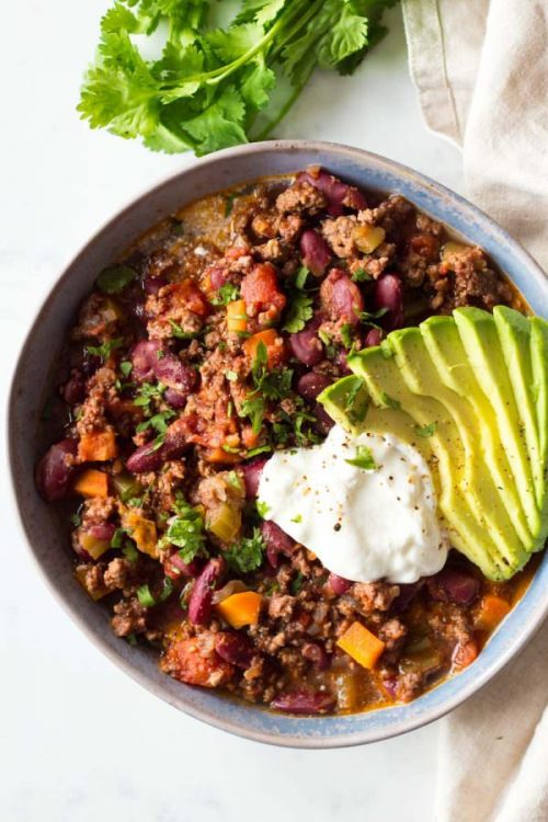 classic instant pot chili with ground beef