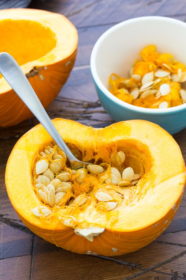 Learn how to make pumpkin puree from scratch! Plus, recipes to use your leftover pumpkin puree. You won't believe how easy it is to make homemade pumpkin puree!