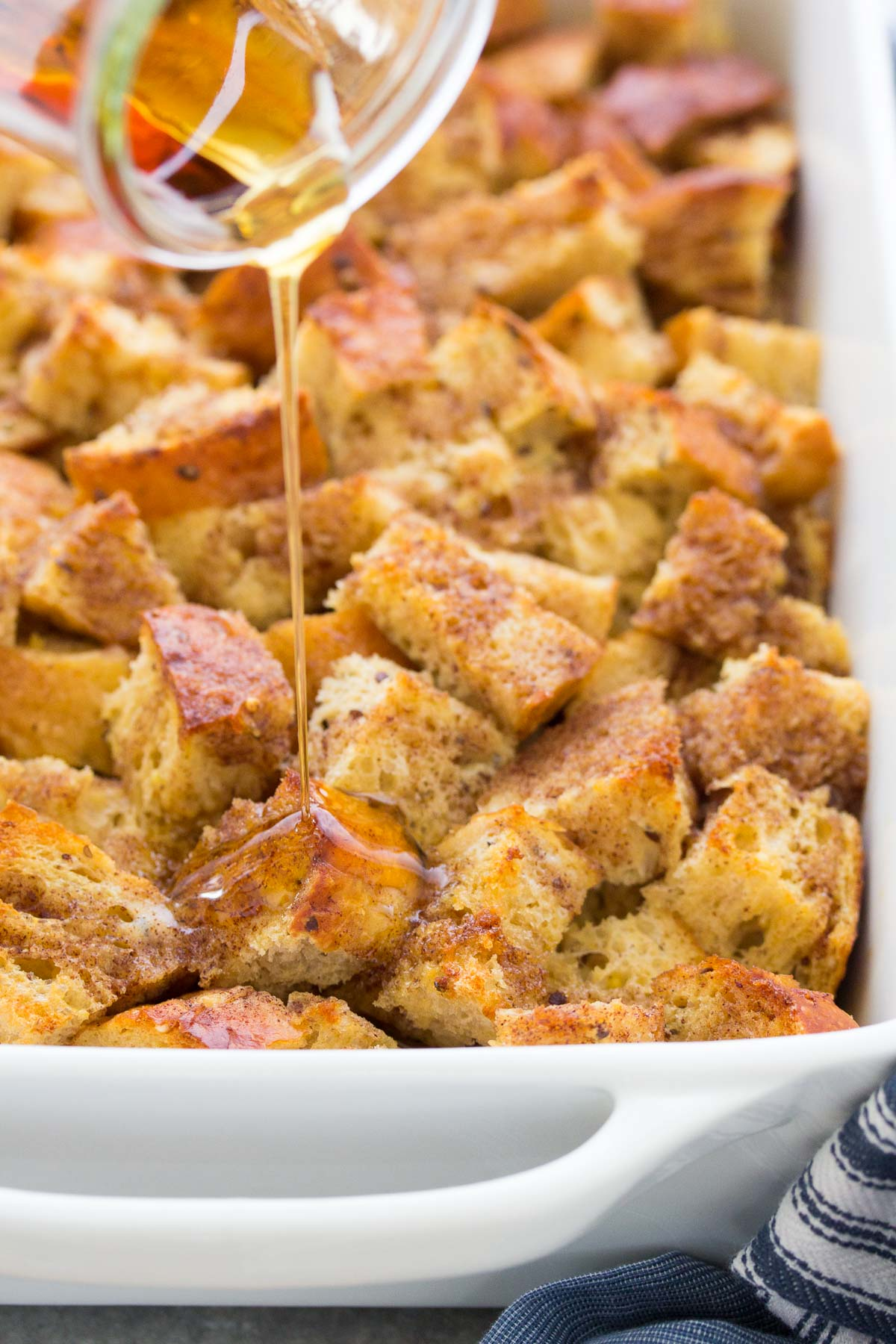 Baked French Toast Casserole Overnight Or Bake Now