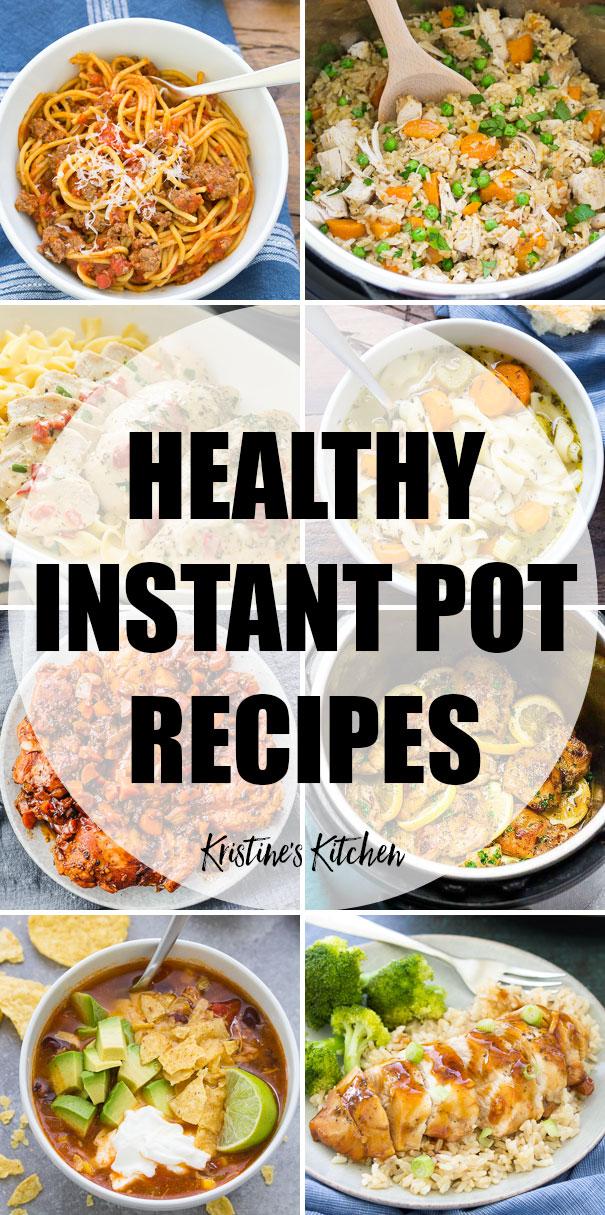 29 Healthy Instant Pot Recipes (Quick & Easy