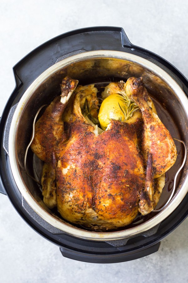 How To Cook A Whole Chicken In An Instant Pot - Fresh Or -6950