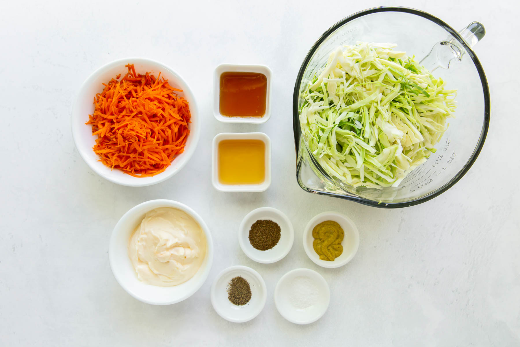 ingredients for coleslaw recipe