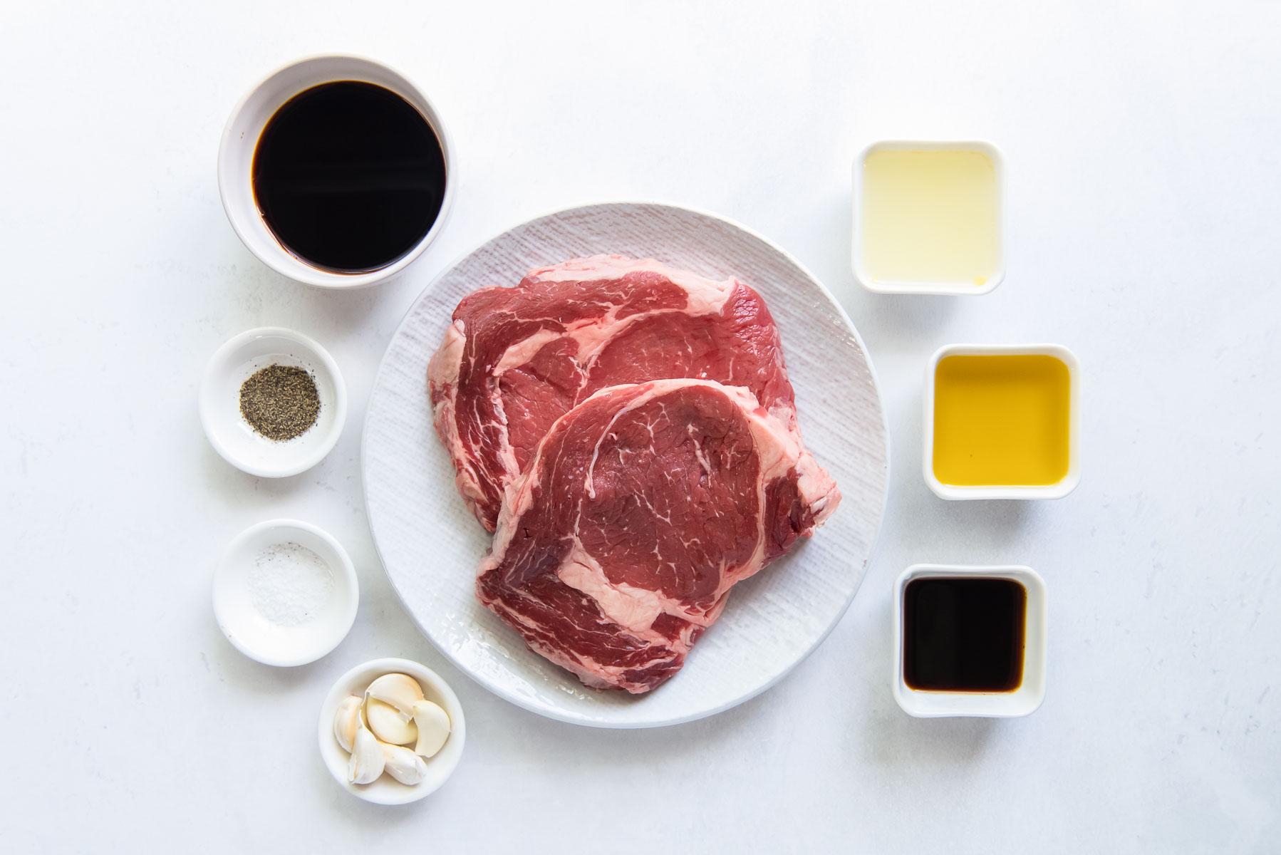 ingredients for steak marinade recipe