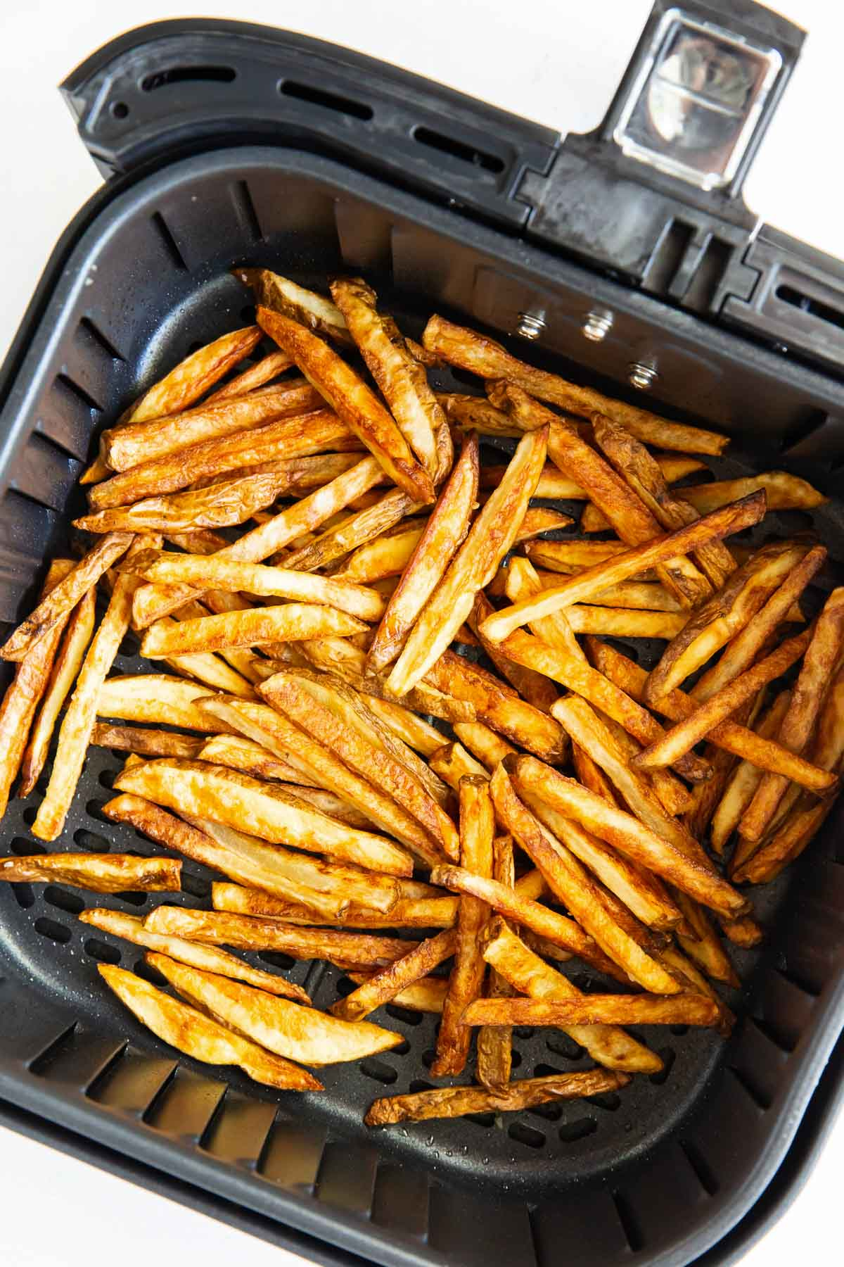 crispy french fries in air fryer