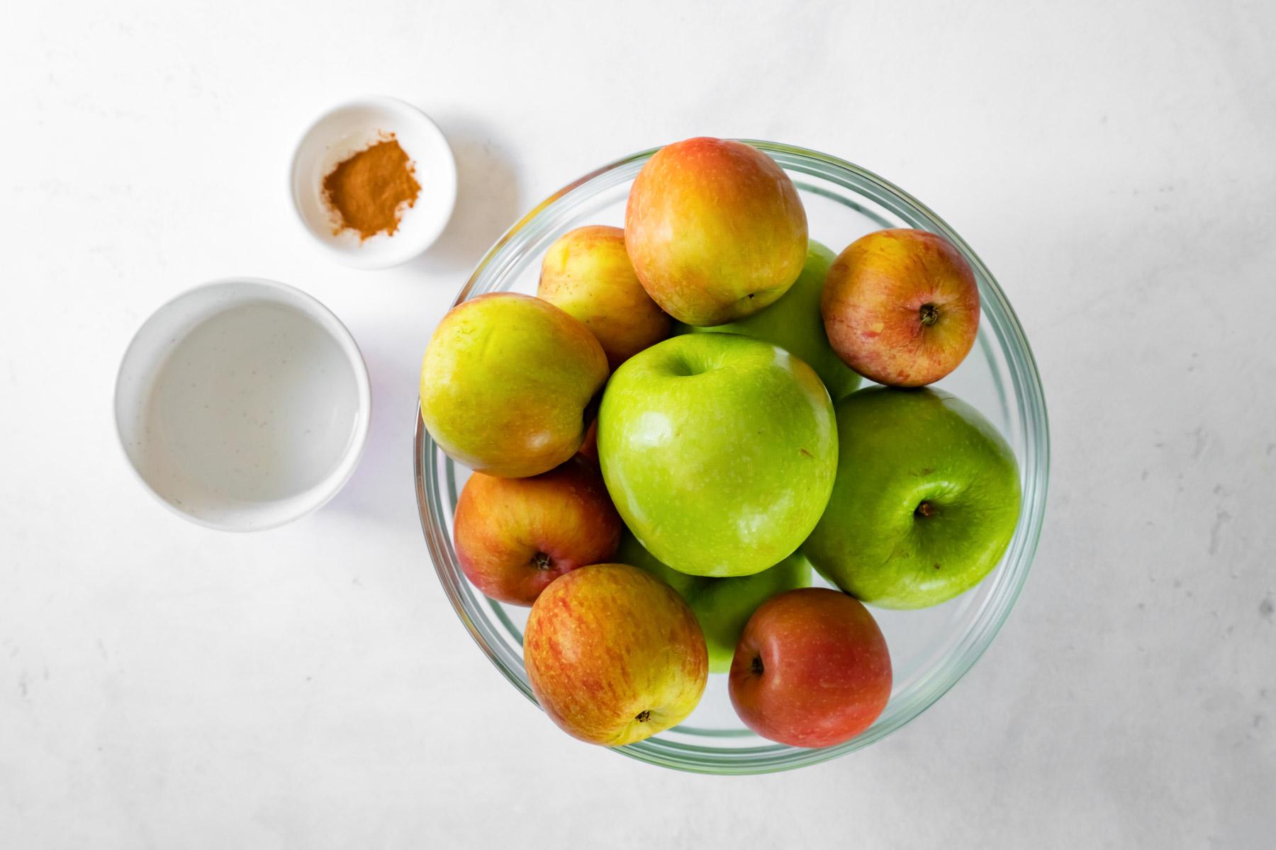 ingredients for instant pot applesauce