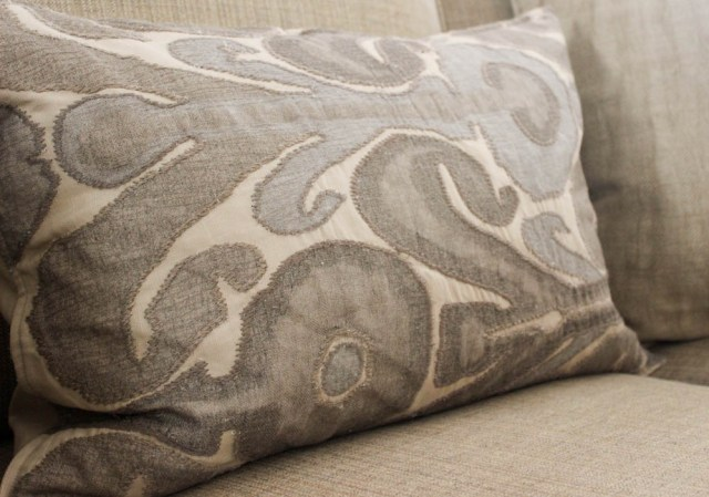 Pottery Barn throw pillows