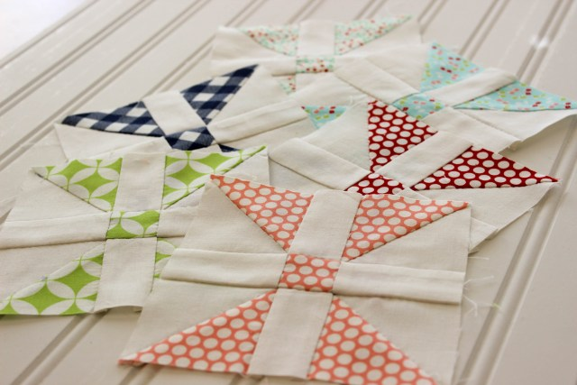 patchwork quiltalong, fat quarter shop, hand pieced quilt blocks