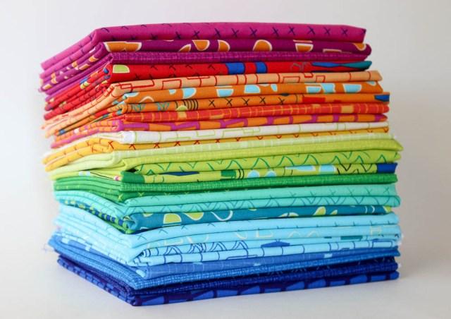 Modern Marks fabric kristinesser.com