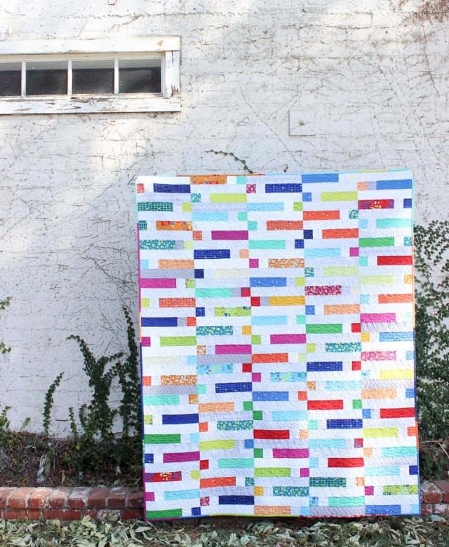 Piece and Quilt with Precuts (kristinesser.com)