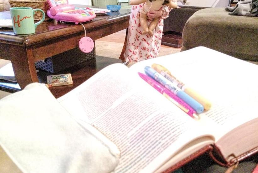 When Your Quiet Time isn't so Quiet