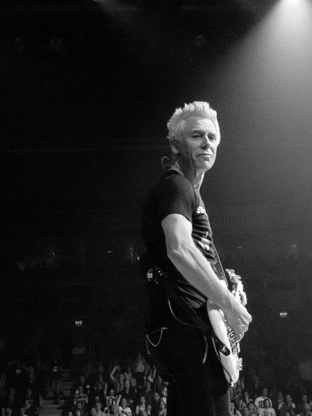 Adam Clayton at U2 concert in Belfast 18 Nov 2015