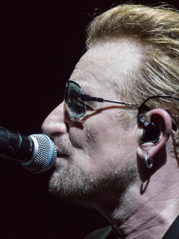 Bono U2 concert Dublin 24 Nov 2015
