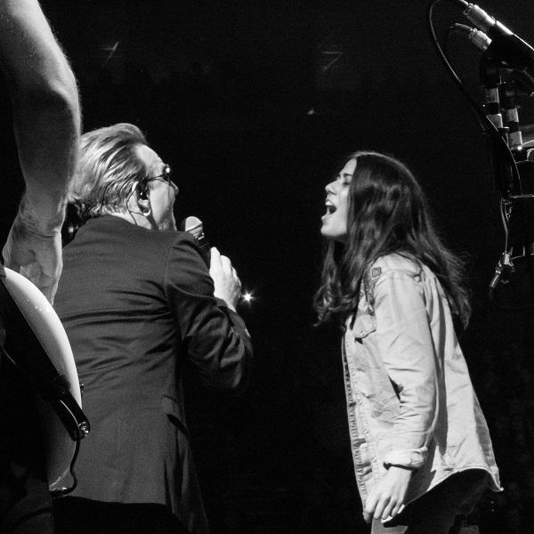 Bono and Teresa