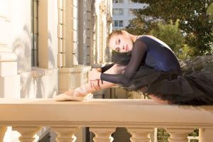 Alina Bormotova in California
