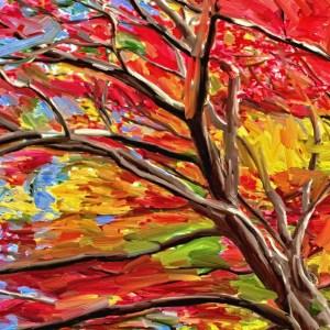 Artwork Autumn in Aberdeen
