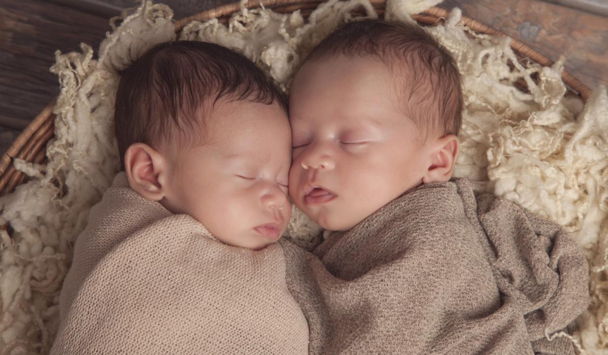 Salisbury MD Newborn Photographer Twin