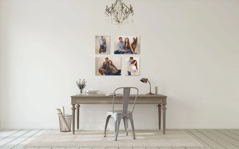 Canvas wall layout