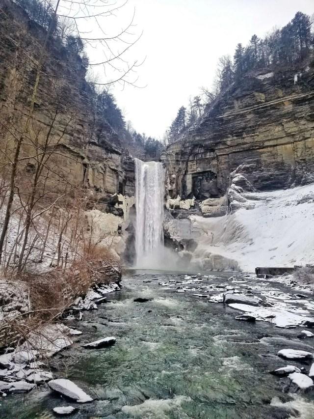 Taughannock Falls, Trumansburg, New York - Finger Lakes