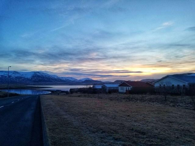 reykjavik sunrise