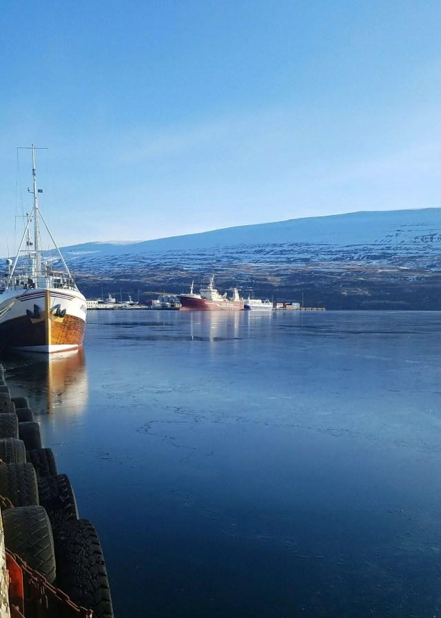 Akureyri boats