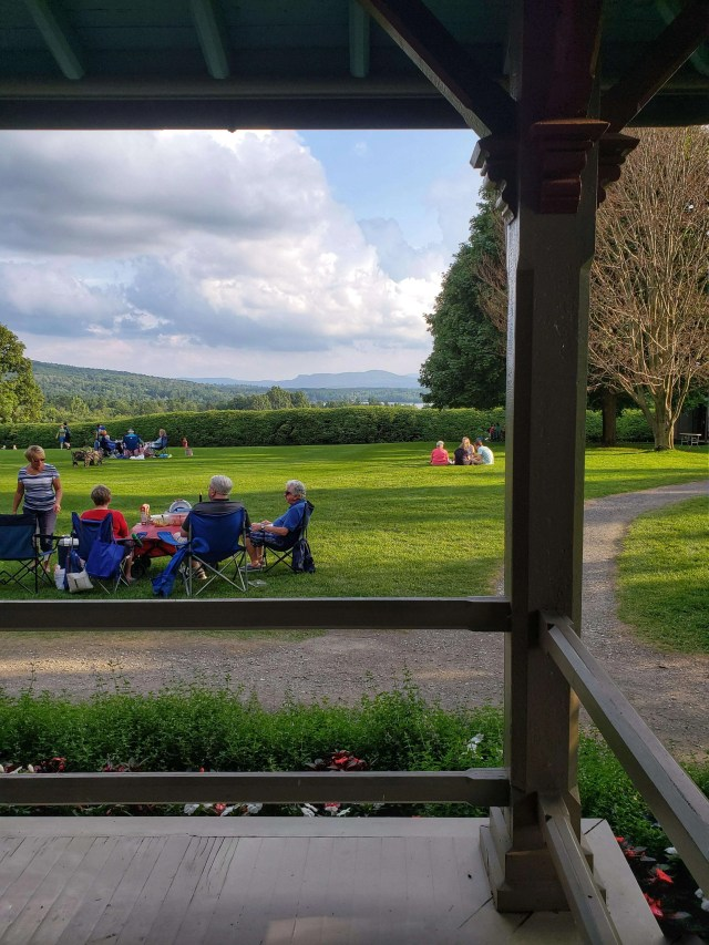 View from the Visitors Center at Tanglewood