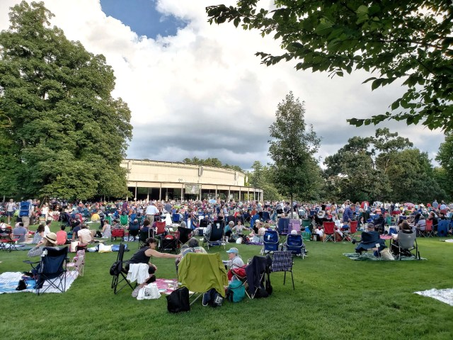 The lawn at Tanglewood