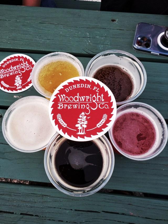 Woodright brewing, Dunedin, Florida
