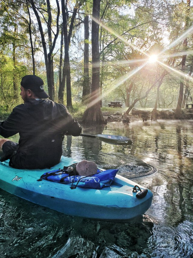 early morning at ginnie springs