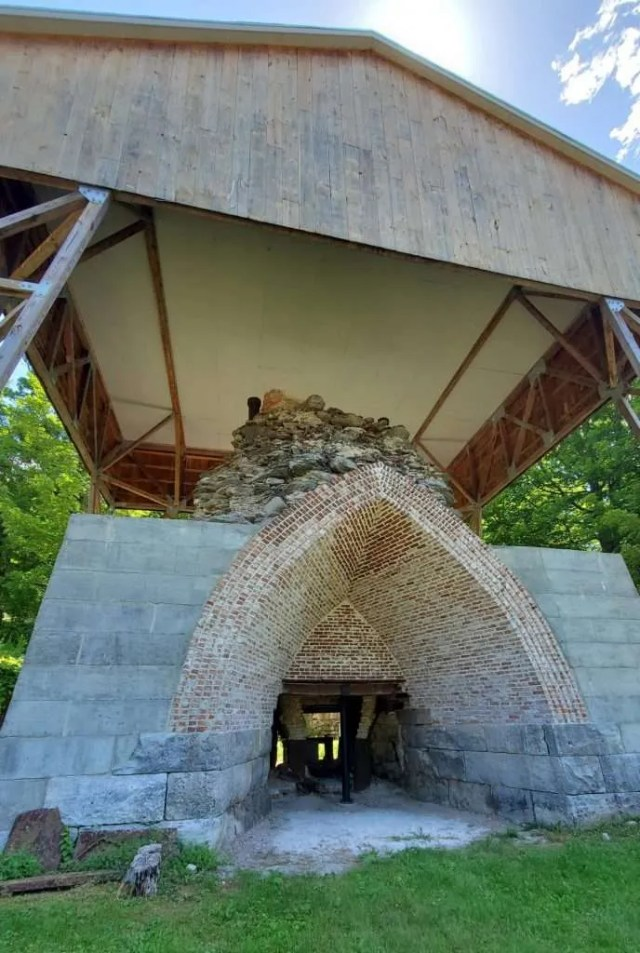 Copake Iron Works blast furnace