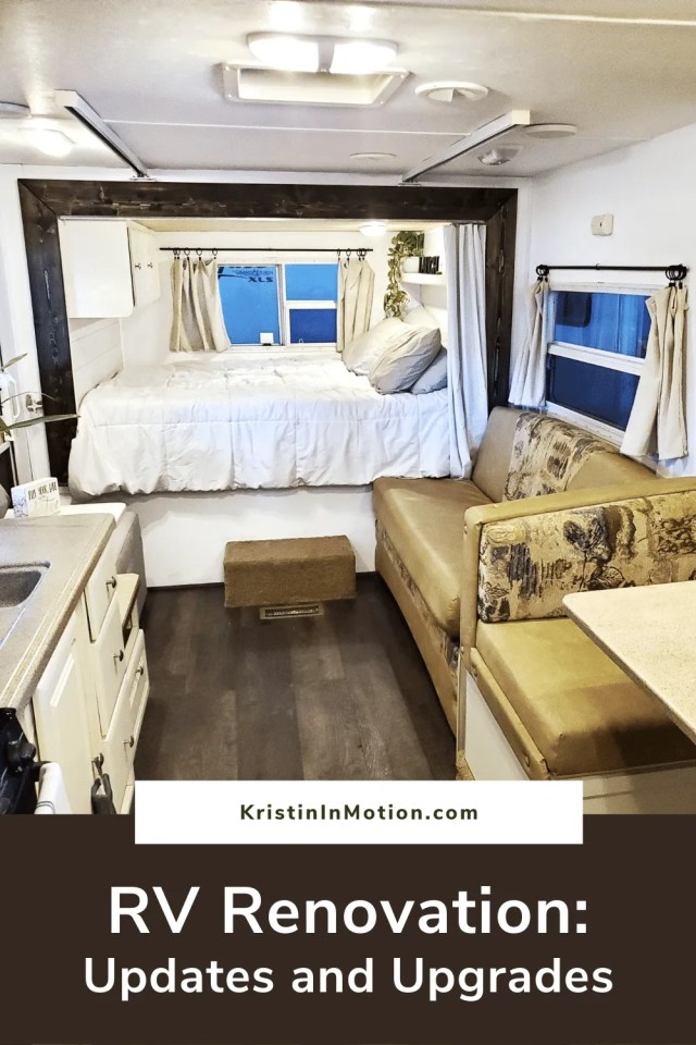 RV Renovation is all the rage right now but what if you don't have the time or money to spend on a full gut and remodel? Small upgrades made a huge difference in this renovation of a 2008 Keystone travel trailer. RV Renovation