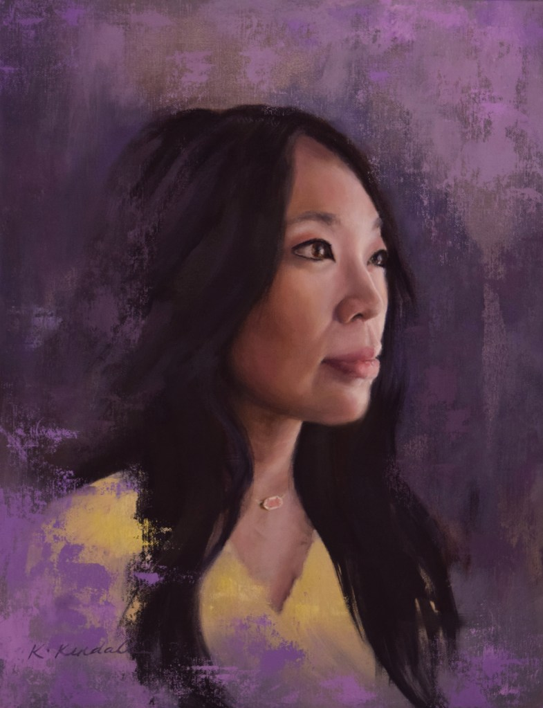 Oil Portrait, Oil Painting, Kristin Kendall Fine Art