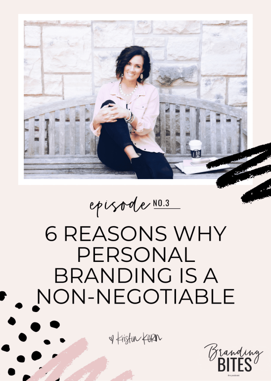 6 Reasons Why Personal Branding is a Non-Negotiable