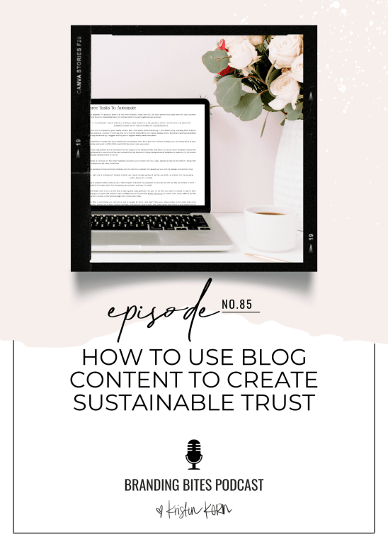 How To Use Blog Content To Create Sustainable Trust