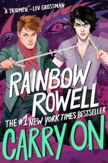 Image result for carry on rainbow rowell illustrator