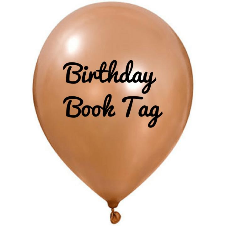 Birthday Book Tag
