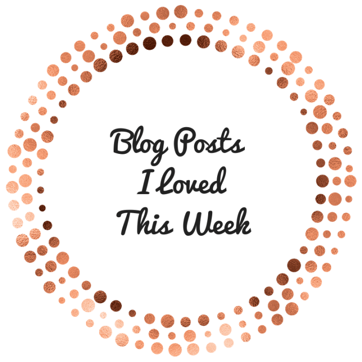 Blog Posts I Loved This Week (Blogmas Day Twelve)