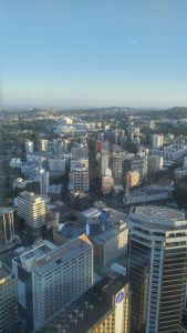 View of our room from the Sky Tower