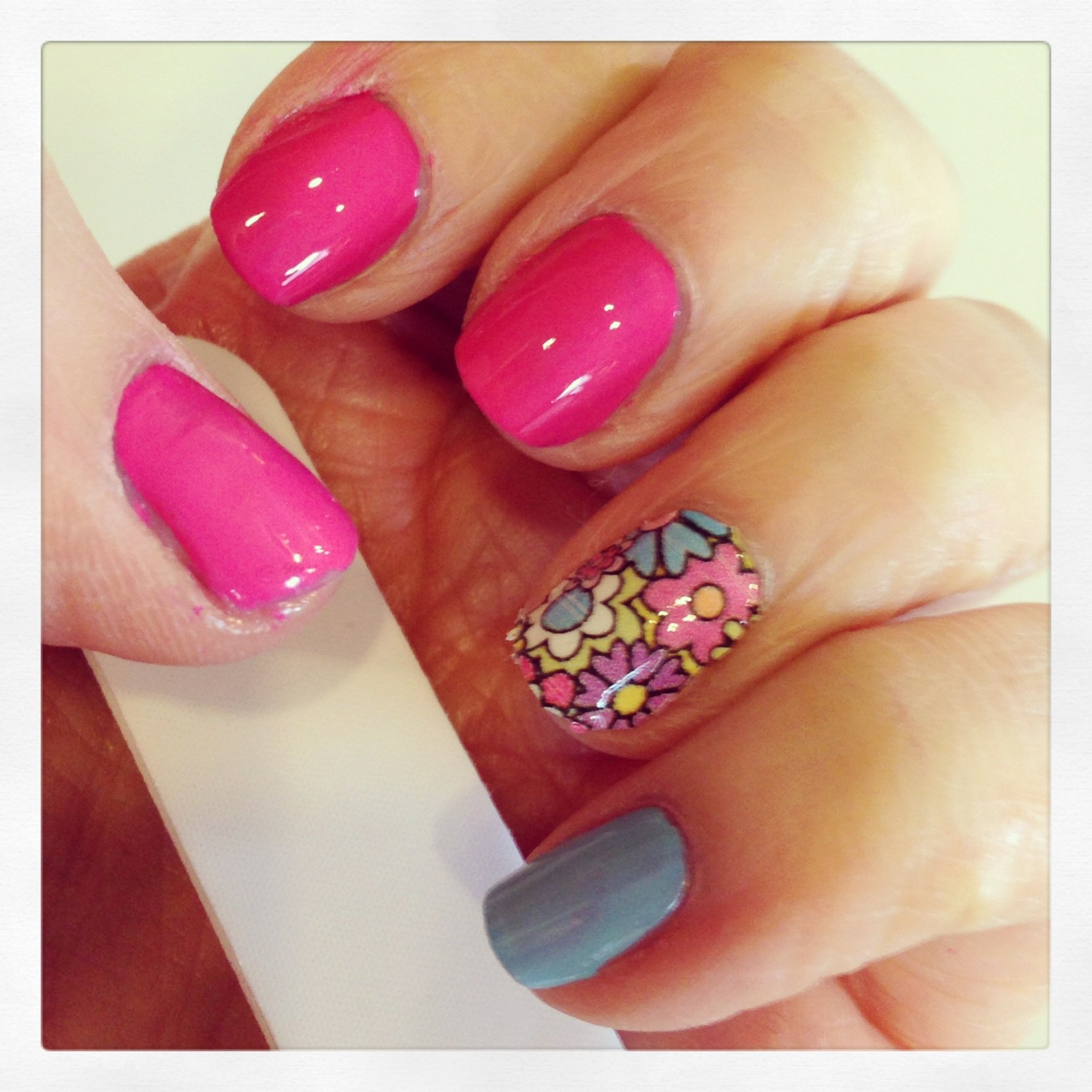 I Heart Nail Art With Sally Hansen My Own Personal Creation