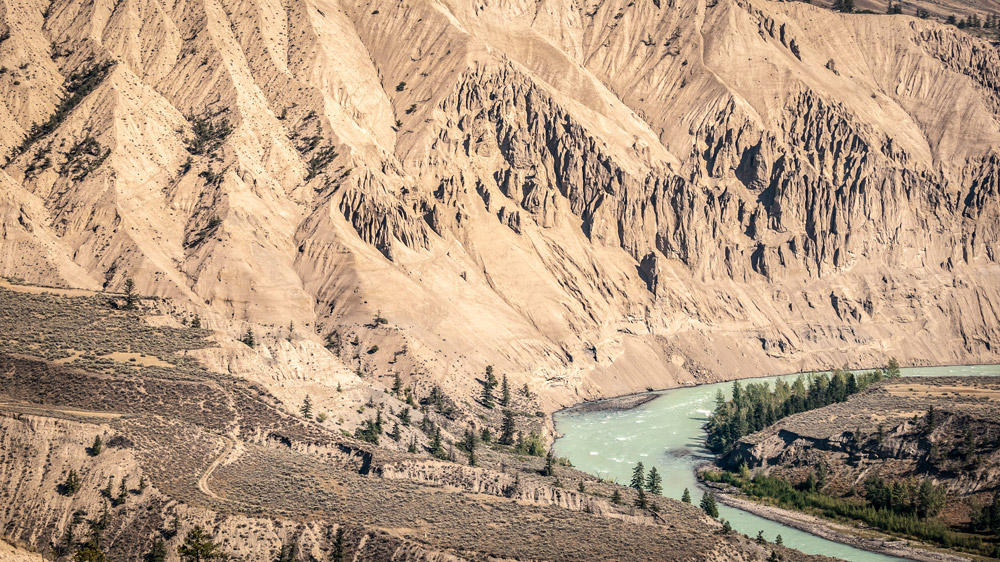 Farwell Canyon and the Chilcotin River