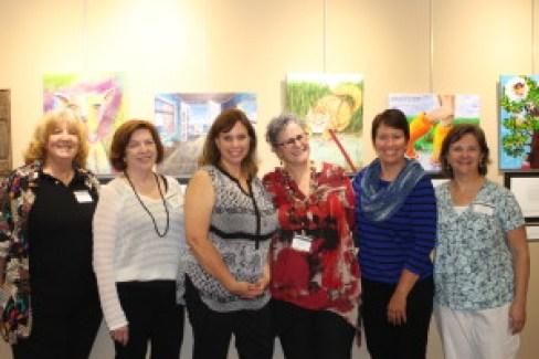 121 - The Word of Art 2 Committee - Deborah Ann Lucas, Catherine Conroy, Mary Lamphere, Kathleen Tresemer, Kristin Oakley, and Linda Kleczkowski