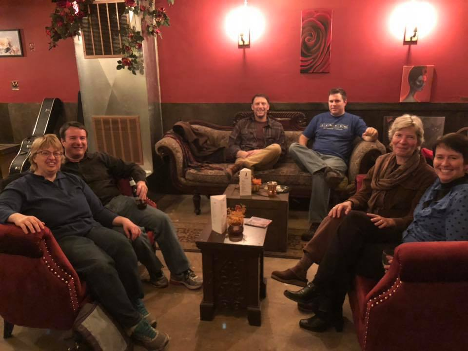 Charlene and Aaron Avery, Rich Brandt, Kenneth Casper, Christine Keleny, and Kristin Oakley