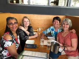 Cheryl Woodson, Mary Beth Maas, Kristin, and Shannon Anderson