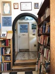 Doorway inside City Lights