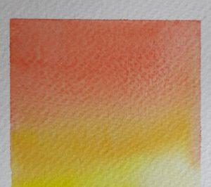 Multi-colour gradient in watercolour