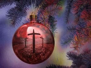 Christmas tree cross