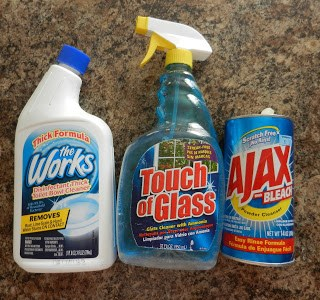 Day 1: Cleaning Products